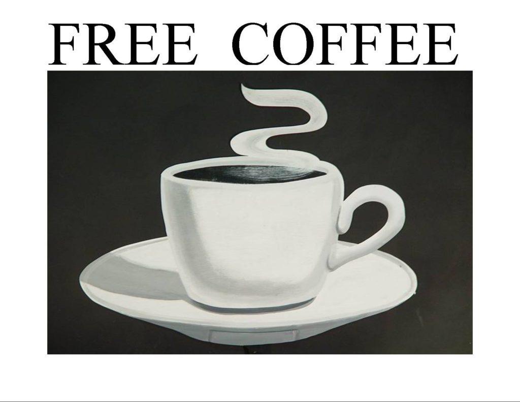 Breakfast & Free Coffee