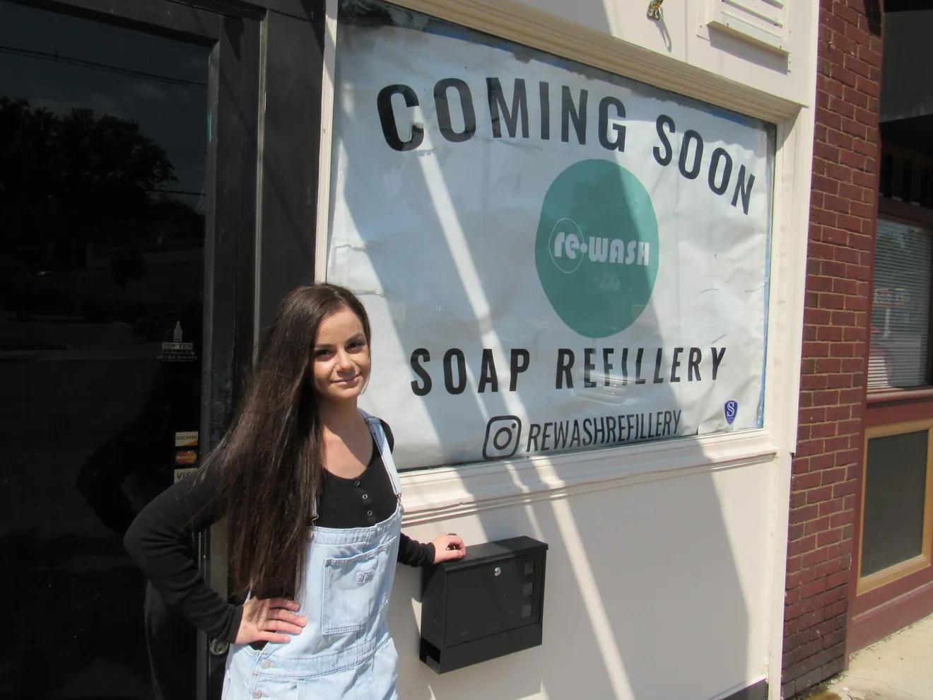 'Socially responsible' soap dispensary ReWash to open in Clintonville