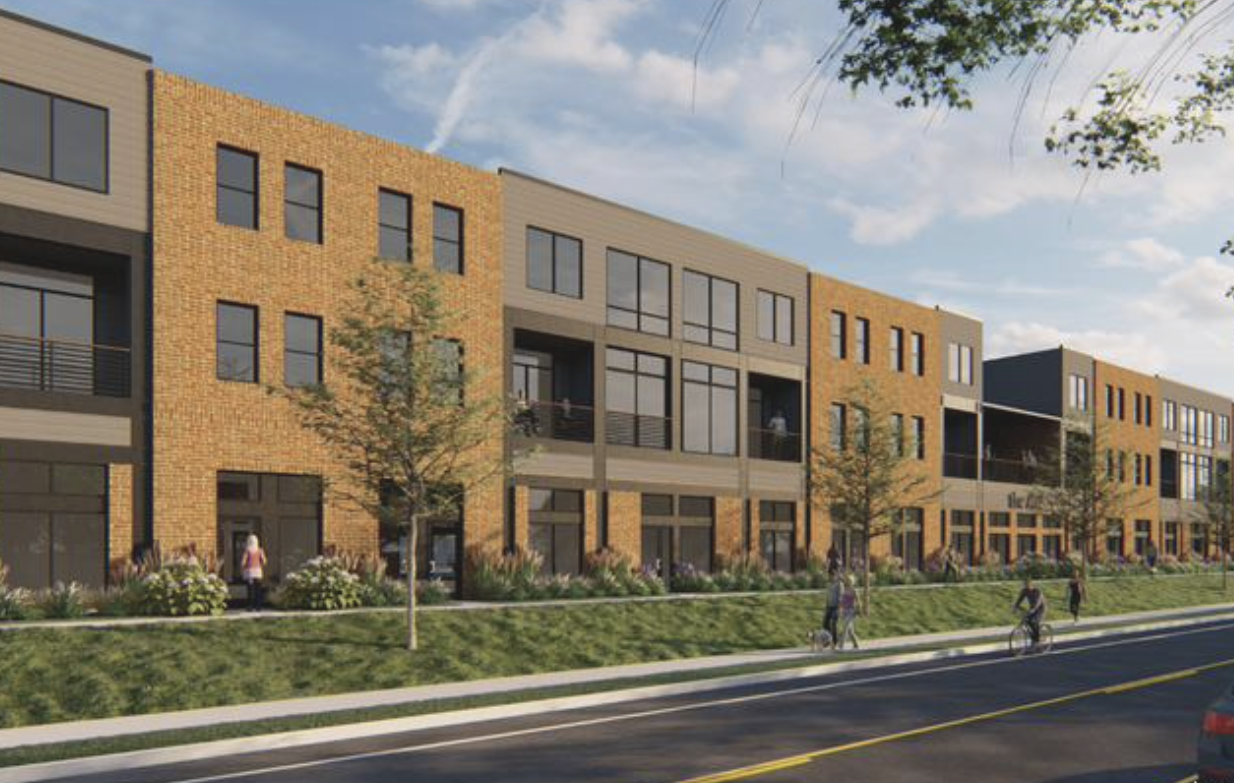 Vision Development to build mixed-use project in front of The Ave apartments in Clintonville